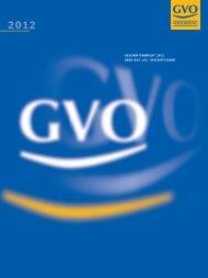 Geschäftsbericht 2012 - GVO Versicherung
