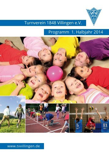 TV Programm 2014 1. Halbjahr - Turnverein 1848 Villingen e.V.