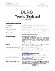 Trophy Stralsund - DLRG