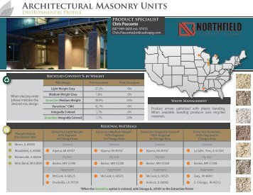 Architectural Masonry Units - Northfield Block