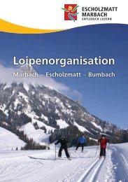 Loipenorganisation Marbach - Kemmeriboden-Bad