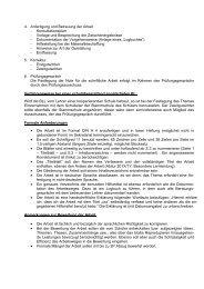 Informationen zur 5. Prüfungskomponente/Besondere Lernleistung