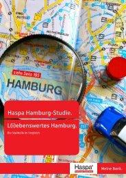 ebenswertes Hamburg. Die Stadtteile im Vergleich - HWWI