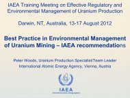 20.Woods (IAEA) - IAEA's best practices document - International ...