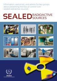 Sealed Radioactive Sources - International Atomic Energy Agency
