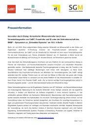 Pressemitteilung - IEB