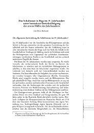 Das Schulwesen in Riga im 19. Jahrhundert unter besonderer ...