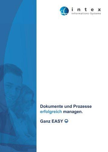 Produktbroschüre - intex Informations-Systeme GmbH