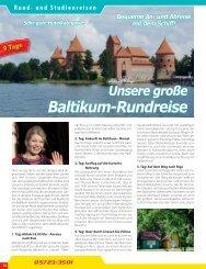 Baltikum-Rundreise
