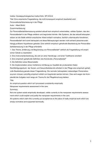 schen Gehalt zu bearbeiten - Kuratorium Deutsche Altershilfe
