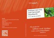 Seminar mit Utta und Christoph Häselbarth - Evangelisch ...