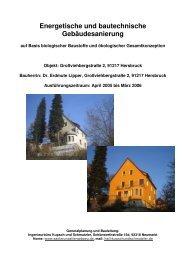 Energetische und bautechnische Gebäudesanierung - Kupsch und ...