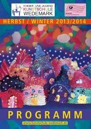 aktuelles Programm H/W 2013-2014 - und Jugendkunstschule ...