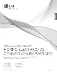 HORNO ELÉCTRICO DE CONVECCIÓN EMPOTRADO
