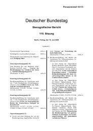 Bundestags-Plenarprotokoll 15/115 - Lesben- und ...