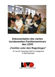 Dokumentation des vierten bundesweiten Familienseminars des ...