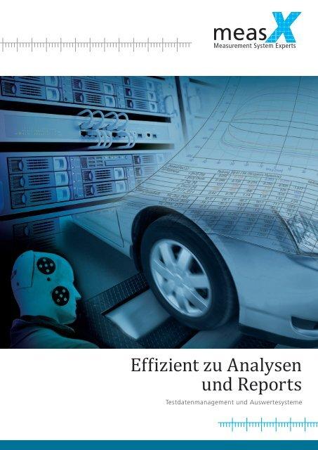 Effizient zu Analysen und Reports - measX