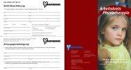 Faltblatt Arbeitskreis Physiotherapie (PDF, 3 MB) - Mukoviszidose e.V.