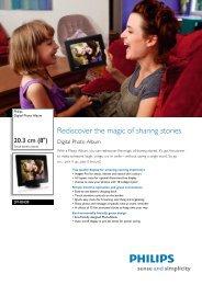 SPH8408/10 Philips Digital Photo Album