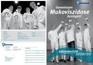 Gemeinsam besiegen! Jahresbericht - Mukoviszidose e.V.