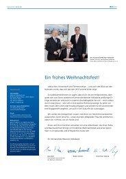 Vorwort von Uwe Abel und Inhaltsverzeichnis - Mainzer Volksbank eG