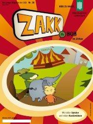 zakk&bob im zirkus - Oldenburgische Landesbank