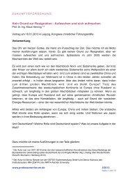 Kein Grund zur Resignation - OSTO Systemberatung GmbH