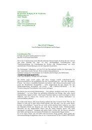 Der STATT Report - Zahnarztpraxis Dr. med. dent. WOLFGANG WW ...