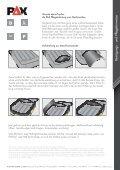 Allgemein Reinigungs- und Pfl egehinweise - PAX-Bags - Seite 2