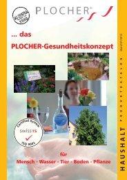 das PLOCHER-Gesundheitskonzept - Roland Plocher Energiesystem