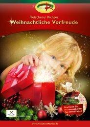 Weihnachtliche Vorfreude - bei Richter Fleischwaren