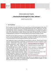 """""""Hochschulmanager(in) des Jahres"""""""