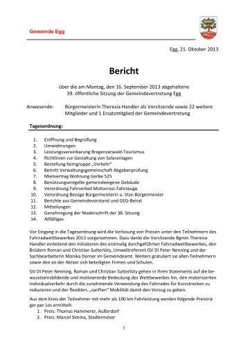 GV-Sitzung vom 16.09.13.pdf - Gemeinde Egg