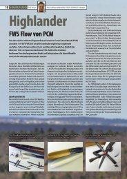 Highlander FW5 Flow von PCM - Podivin Composite Modellbau