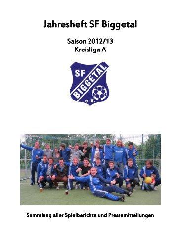 Saisonrückblick SFBI 2012-13 - SF Biggetal