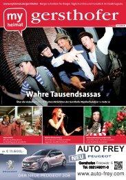 Bericht in MyHeimat Ausgabe 11/2012 - Verein Sicheres Leben eV