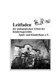Leitfaden - Kita Spiel-und Kinderhaus Witten