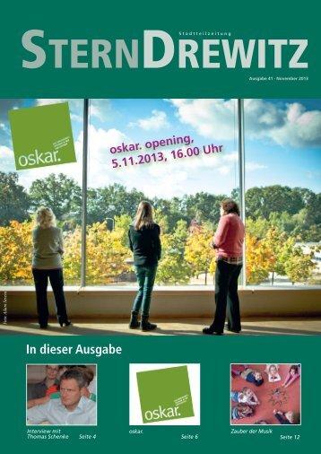Ausgabe 41, November 2013 - Stadtkontor