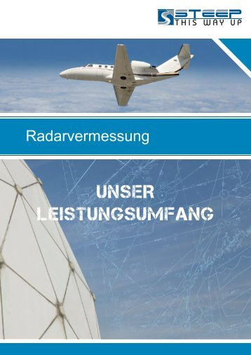 Radarvermessung - steep GmbH