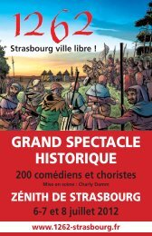 4 pages en  version PDF - Strasbourg, ville libre
