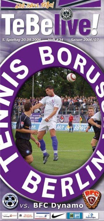Seite - Tennis Borussia Berlin