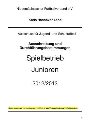 Ausschreibung - TSV - Berenbostel