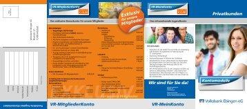 Privatkunden - Volksbank Ebingen eG