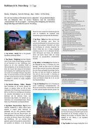Baltikum & St. Petersburg