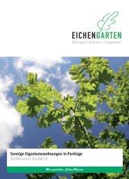 Broschüre Eichengarten - wbg - Stadt Nürnberg