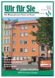 WBG Nürnberg Gruppe Wir gestalten LebensRäume - wbg - Stadt ...