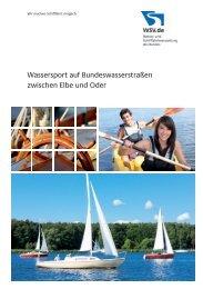 Wassersport auf Bundeswasserstraßen zwischen Elbe und ... - WSV