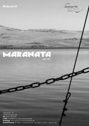 Freundesbrief April - Zentrum für Erneuerung - Maranata eV