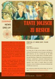 TANTE JOLESCH ZU BESUCH - 220 GRAD