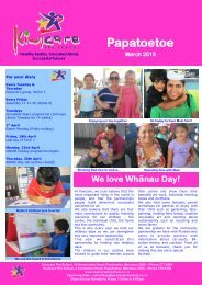 Papatoetoe newsletter March 2013